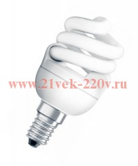 DULUX SUPERSTAR MINI TWIST 12W/840 220-240V E14 Osram
