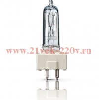 6877P M/40 500W GY9.5 230V PHILIPS - лампа (OSRAM 64672 GE 39621)