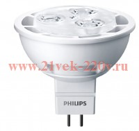 PHILIPS MASTER LED spot LV 5.5-35W WH 3000K MR16 36D