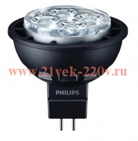 PHILIPS MASTER LED spot LV 5.5-35W 3000K MR16 36D - лампа