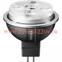 PHILIPS MASTER LED spot 7-35W 830 MR16 36D GU 5.3 (dimmable) - лампа