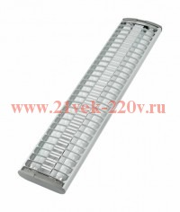 Светильник 72100 LUMILUX DUO T5 F/P 2X28w 1193x110x42 mm